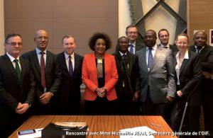 Rencontre APREF et OIF au ministère de l'Europe et des Affaires étrangères à Paris le 24 novembre 2017